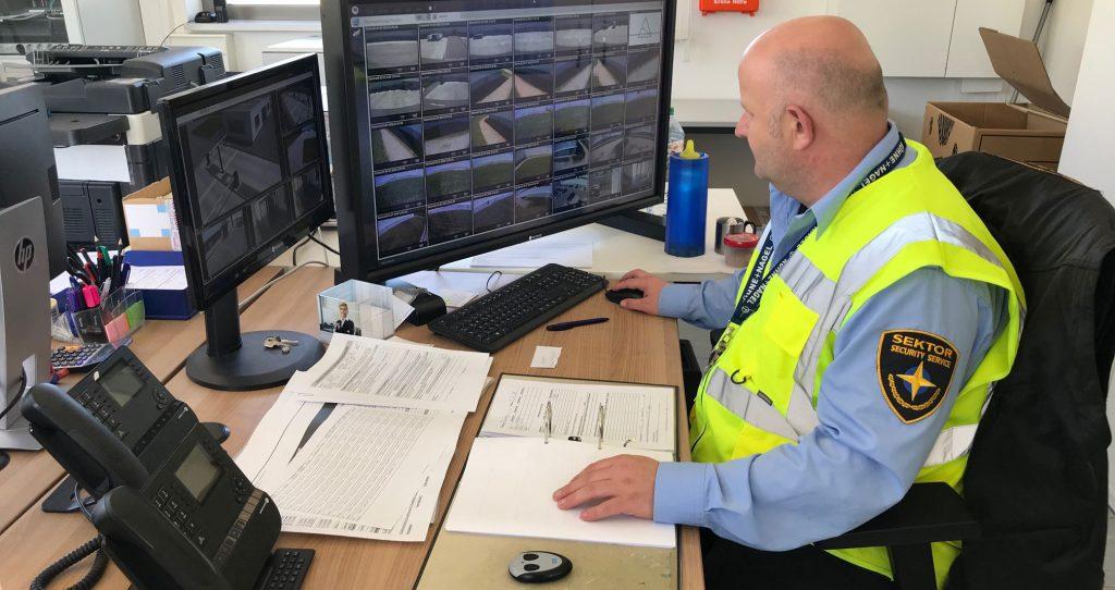 Sektor Sicherheitsdienst Firmenlogo